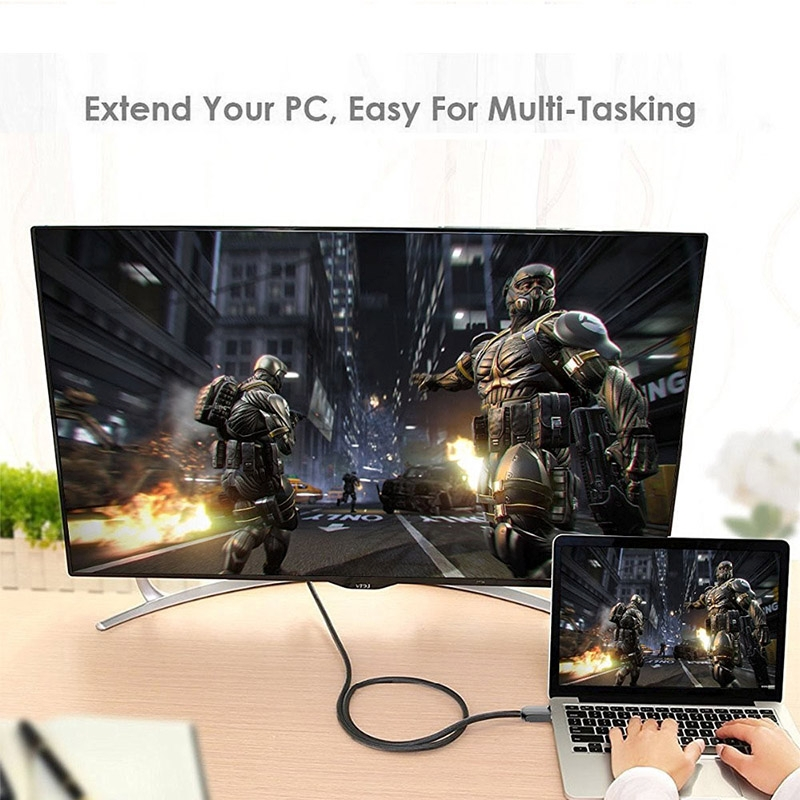 1m HDMI 2.0 Version 4K 1080P Aluminium Alloy Shell Line Head Gold-plated Connectors HDMI Male to HDMI Male Audio Video Adapter Cable