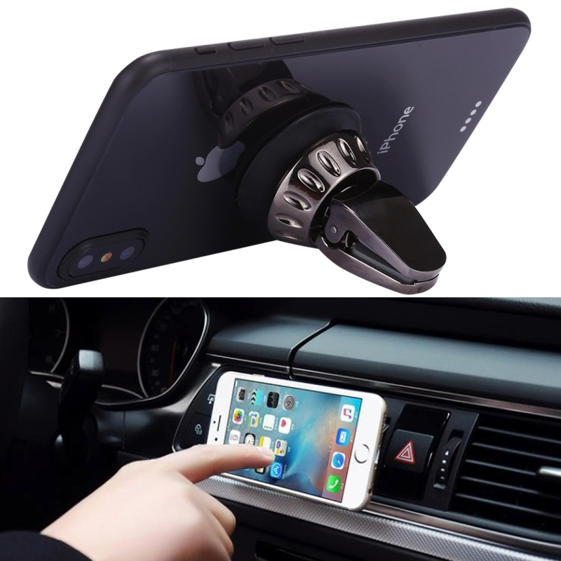 Silicone Sucker Universal Car Air Vent Phone Holder Stand Mount, For iPhone, Samsung, Sony, Lenovo, HTC, Huawei, and other Smartphones (Bronze)