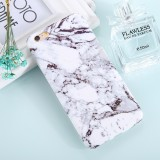 For iPhone 6 Plus & 6s Plus Ink Marble Pattern TPU Protective Back Cover Case