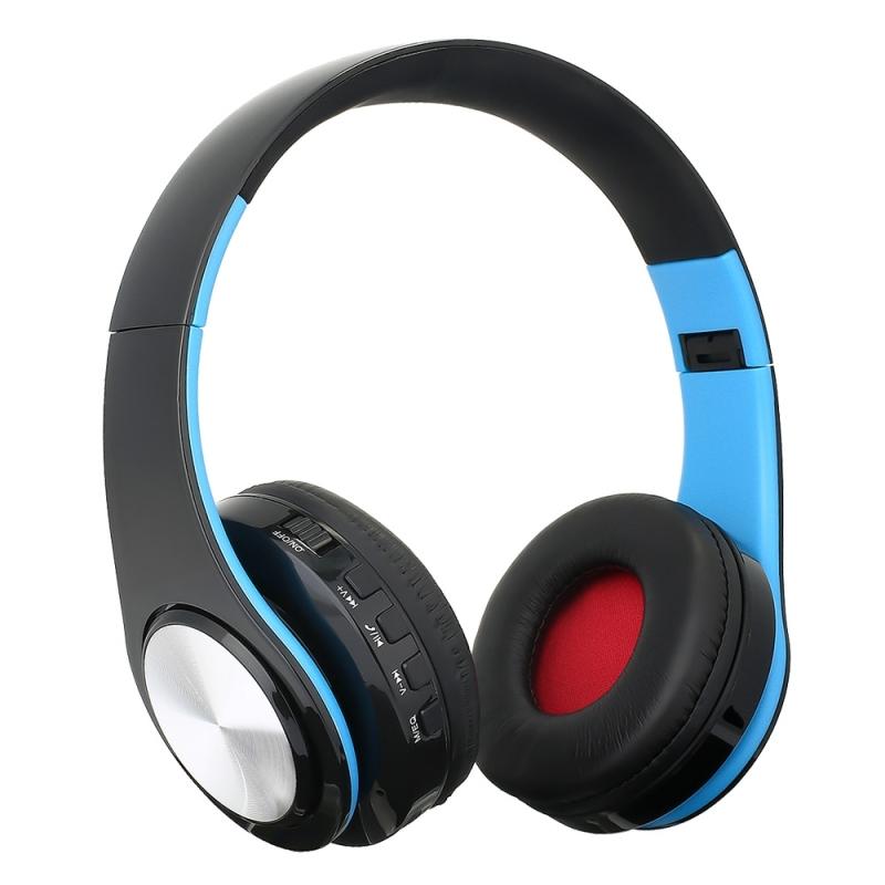 BTH-818 Headband Folding Stereo Wireless Bluetooth ...