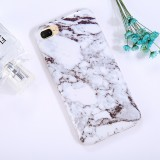 For iPhone 8 Plus & 7 Plus Ink Marble Pattern TPU Full Coverage Shockproof Protective Back Cover Case