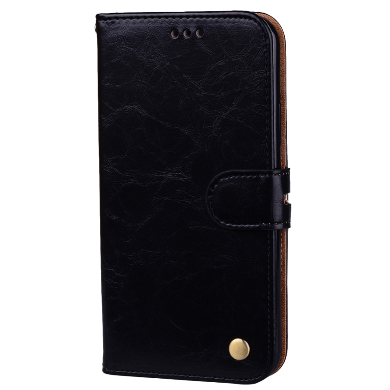 For iphone x business style oil wax texture horizontal for Iphone business card holder