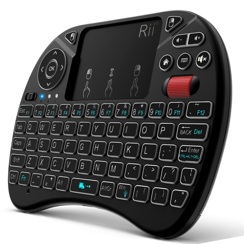 db8dc7ce7c8 Rii I8X RT716 2.4GHz Mini Wireless QWERTY 71 Keys Keyboard 2.5 inch  Touchpad Combo with · KB5220_1. ...