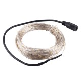 20m 3W 200 LEDs SMD 0603 IP65 Waterproof Silver Wire String Light Fairy Lamp Decorative Light, DC 12V (Warm White)