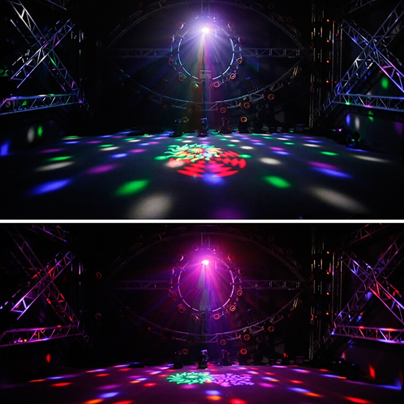 Led mk004 60w colorful light 4 in 1 projector indoor stage for Indoor stage decoration