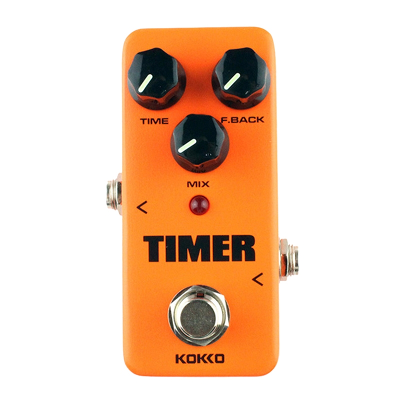 kokko fdd2 mini electric guitar digital delay effects pedal timer orange. Black Bedroom Furniture Sets. Home Design Ideas