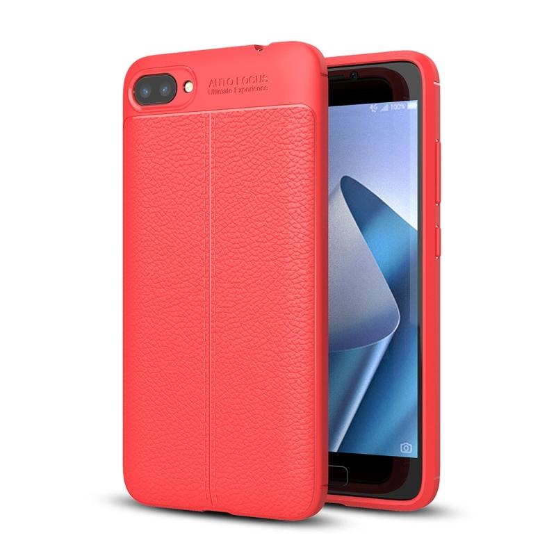 For asus zenfone 4 max pro zc554kl litchi texture tpu protective for asus zenfone 4 max pro zc554kl litchi texture tpu protective case red stopboris Images