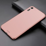MOFI for Sony Xperia XZ & XZs PC Ultra-thin Full Coverage Protective Back Cover Case (Rose Gold)
