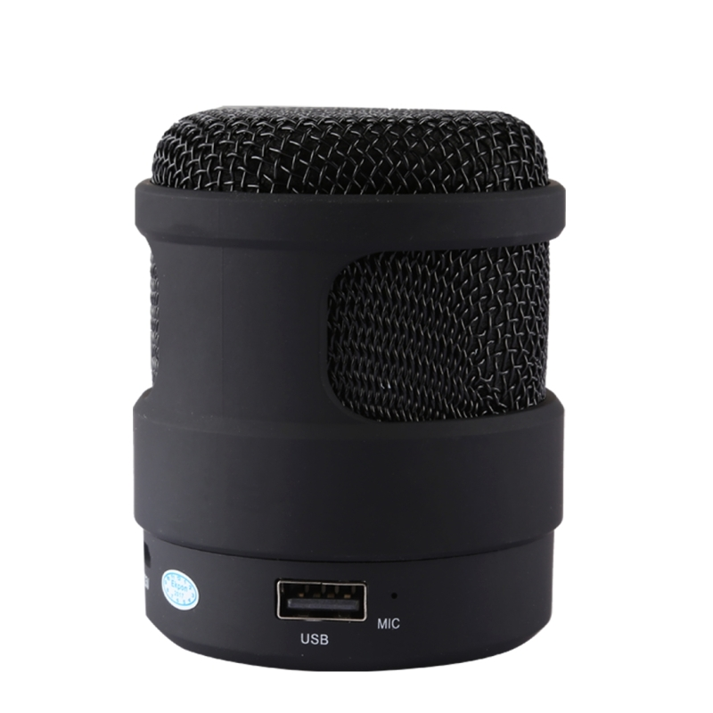S-13 Portable Stereo Music Wireless Bluetooth Speaker, Built-in MIC, Support Hands-free Calls & TF Card & AUX Audio & FM Function, Bluetooth Distance: 10m (Black)