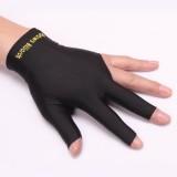 Billiards Snooker Left Hand Three Finger & Fingerless Gloves