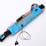 Large Capacity Outdoor Sports Jogging Gym Waist Pack (Blue)