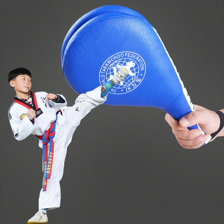 Ship from USA Directly GXOK Childrens Hand Holding Taekwondo Training Double-Leaf Chicken Legs Target,Boxing Punch Exercise Set