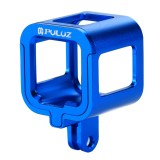 PULUZ Housing Shell CNC Aluminum Alloy Protective Cage with Insurance Frame for GoPro HERO5 Session /HERO4 Session /HERO Session (Blue)