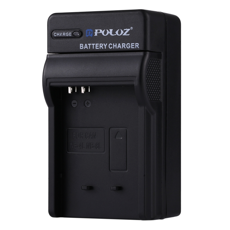Puluz Eu Plug Battery Charger With Cable For Canon Nb 4l
