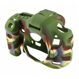PULUZ Soft Silicone Protective Case for Canon EOS 5D Mark III / 5D3 (Camouflage)