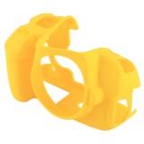 PULUZ Soft Silicone Protective Case for Canon EOS 650D / 700D (Yellow)