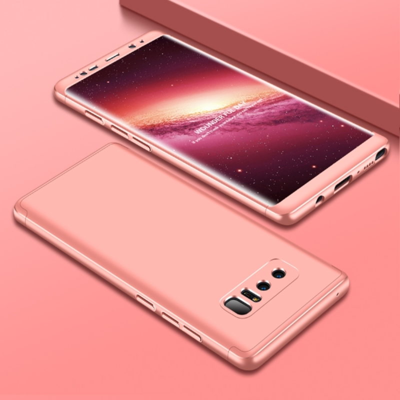 new product 0310e 0c2ee GKK for Samsung Galaxy Note 8 PC 360 Degrees Full Coverage Protective Case  Back Cover Rose Gold (Rose Gold)