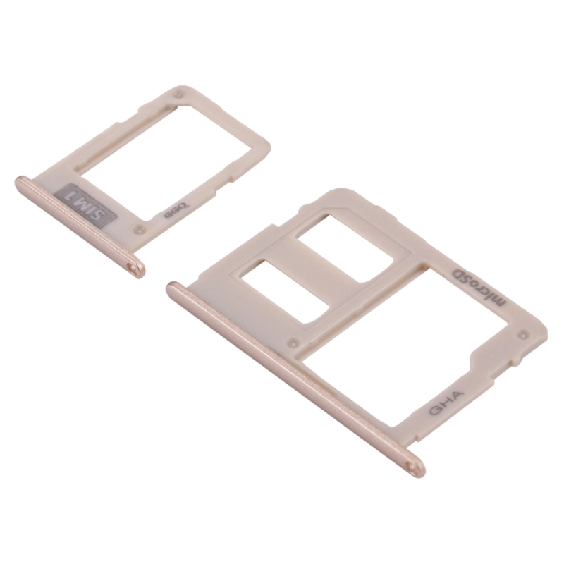 Replacement for Samsung Galaxy J3 (2017) Single SIM / J330 & J5 (2017) Single SIM / J530 & J7 (2017) Single SIM / J730 SIM Card Tray + Micro SD Card Tray (Gold)