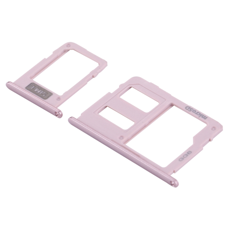 Replacement for Samsung Galaxy J3 (2017) Single SIM / J330 & J5 (2017) Single SIM / J530 & J7 (2017) Single SIM / J730 SIM Card Tray + Micro SD Card Tray (Rose Gold)