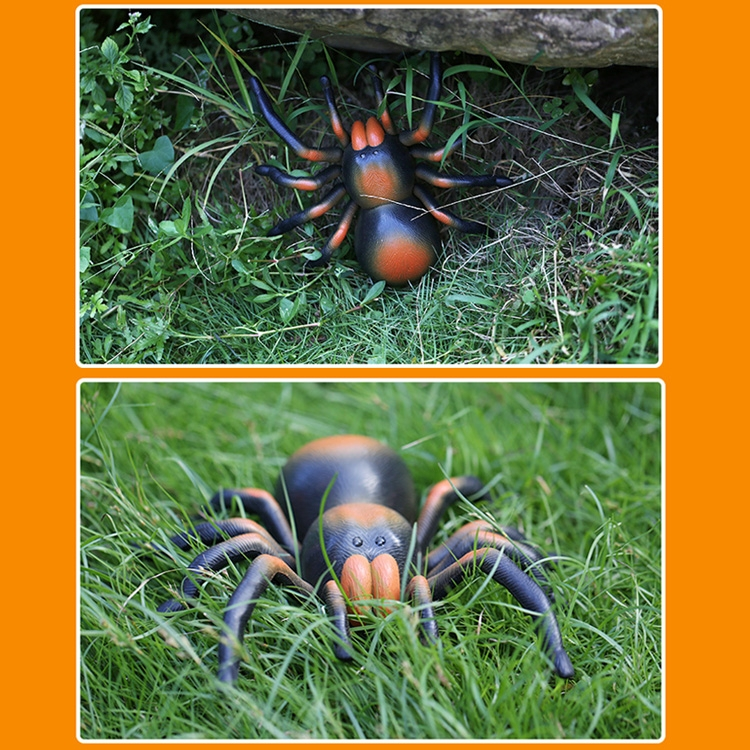 Tricky Funny Toy Infrared Remote Control Scary Creepy Spider, 22*23cm