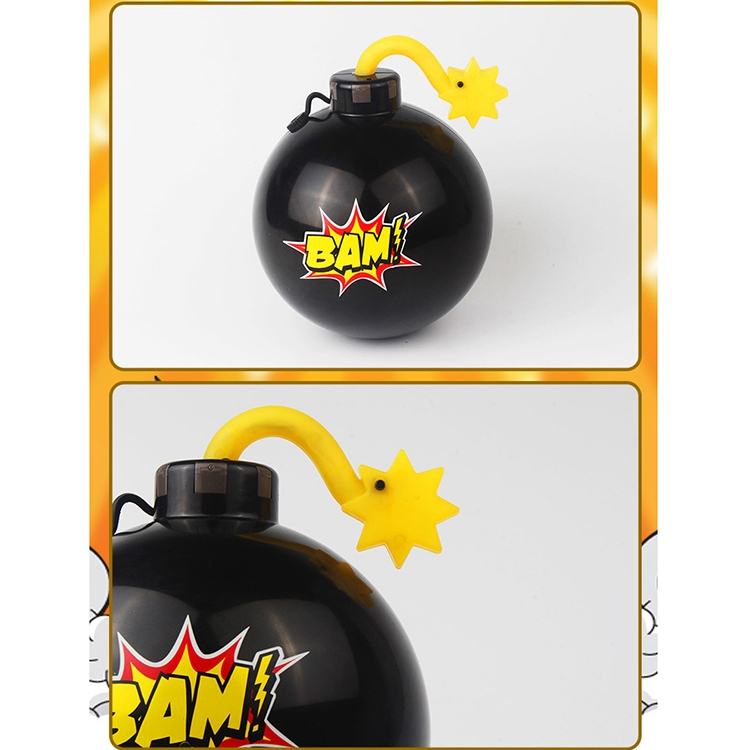 Tricky Funny Toy Water Spraying Bombs (Black)