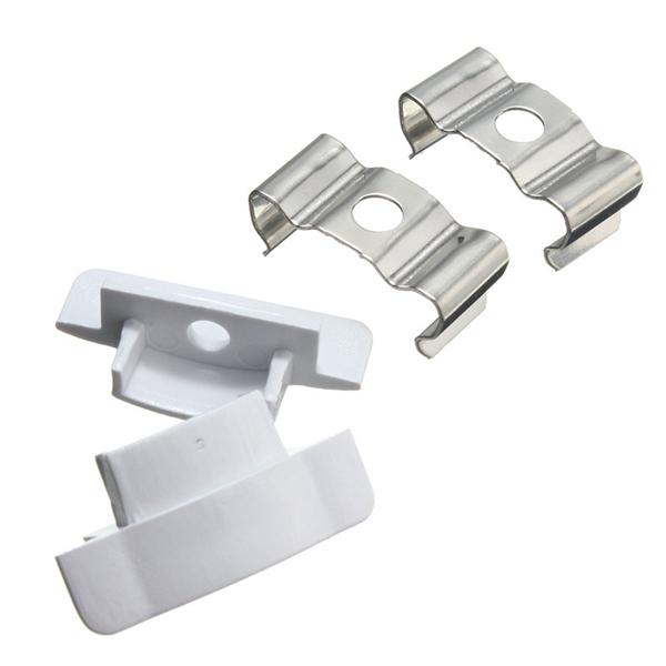 1x 5x 10x Lustreon 50cm Aluminum Channel Holder For Led: LUSTREON 50CM Aluminum Channel Holder For LED Strip Light