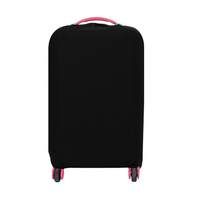 Yellow S New HN-0719 Washable Foldable Luggage Cover 8 Colors 20 24 28 Inch Suitcase Protector