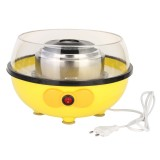 110/220V Portable Electric DIY Sugar Floss Carnival Maker Party Yellow Cotton Candy Machine 455W