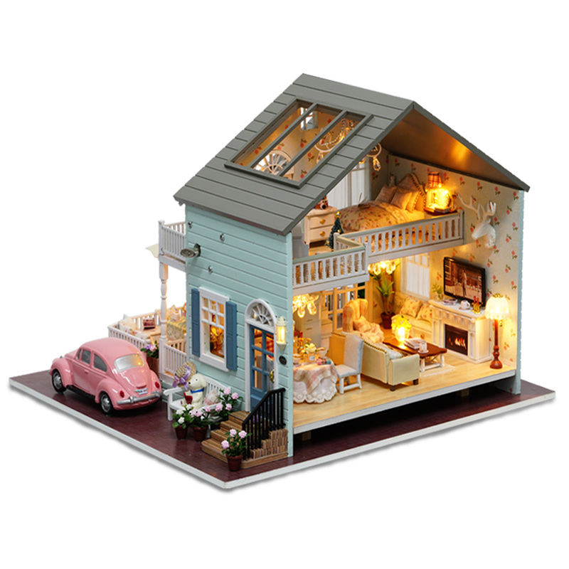 CuteRoom A-035-A Queens Town DIY Dollhouse Miniature Model