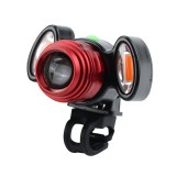 XANES 600LM T6 Bicycle Warning Light Waterproof Bike Front Light 4 Modes USB Charging