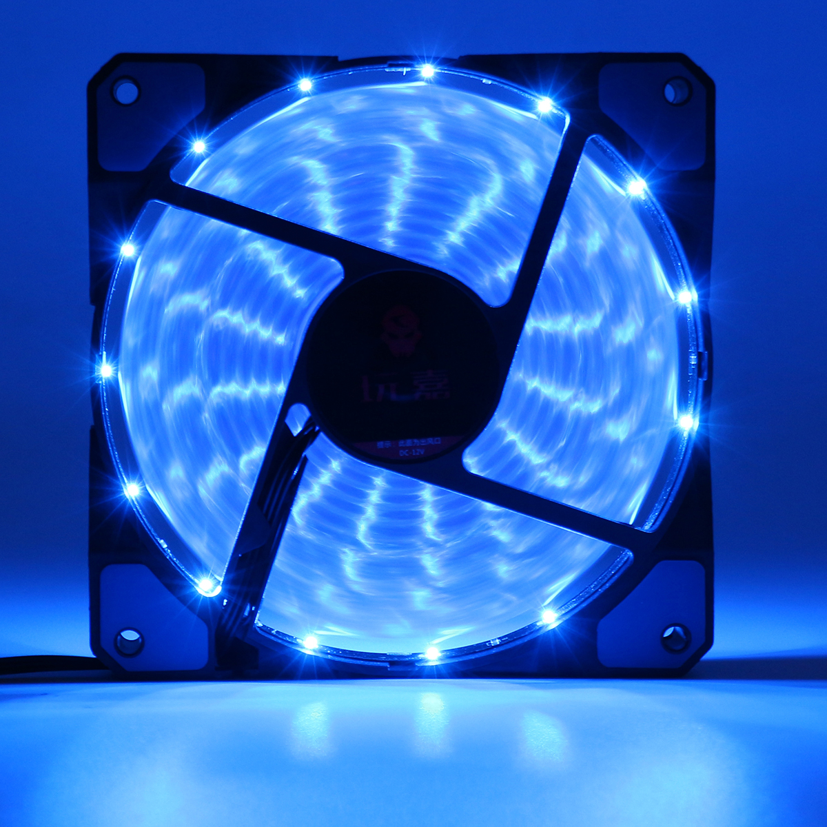 120mm 15pcs Led Light Neon Pc Computer Case Cpu Cooling
