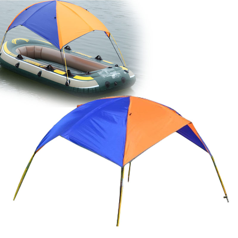 Ipree sun shelter fishing tent inflatable boat rubber for Rubber boats for fishing
