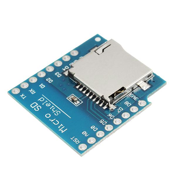 Pcs wemos micro sd card shield for d mini tf wifi