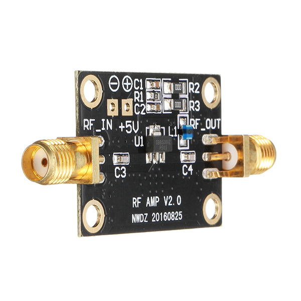 High Linearity Broadband RF Amplifier 0.05-6G High Performance Medium Power Amplifier Module