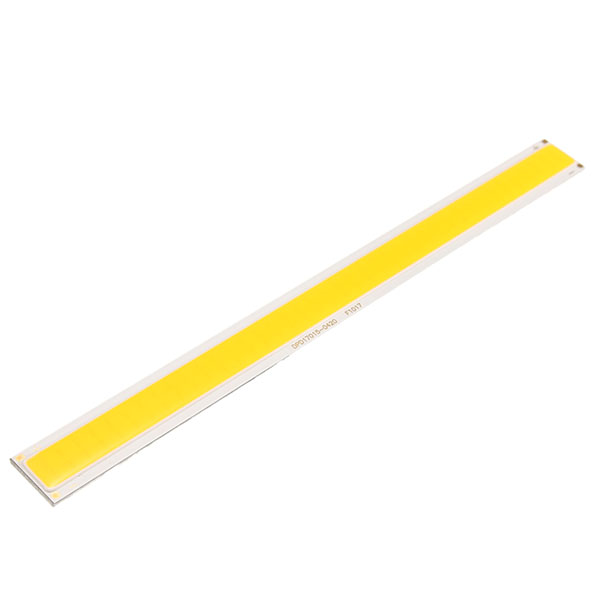 LUSTREON DC12V 10W White/Warm White COB LED Chip 170*15mm for DIY Flood Light