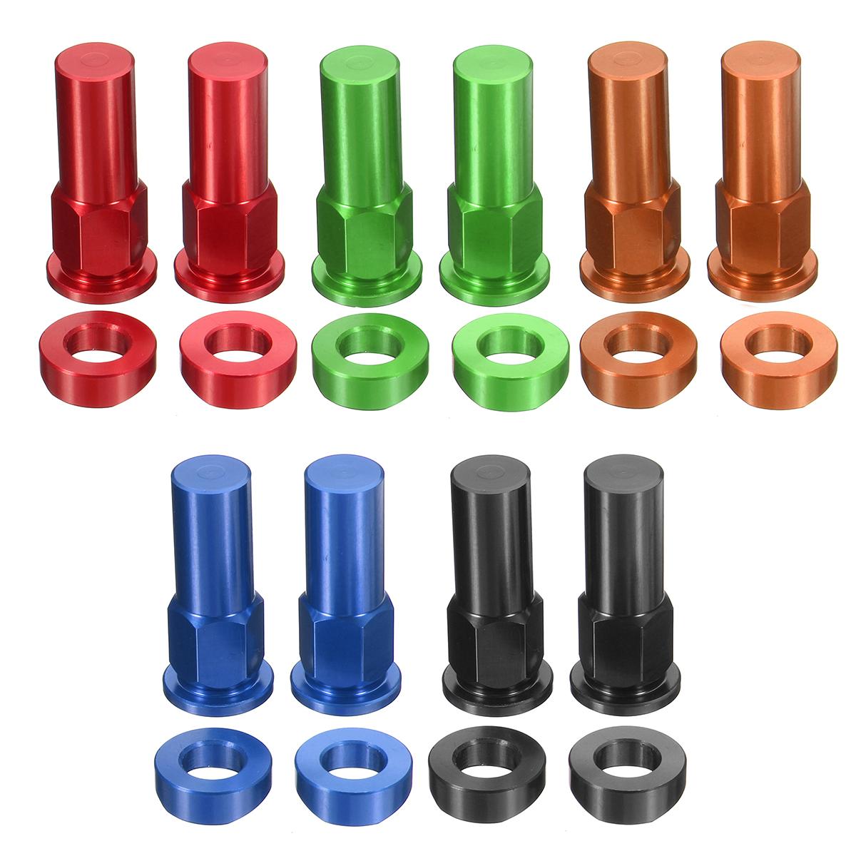 CNC Tusk Rim Lock Nuts Spacer Kit For Honda/Yamaha/KTM/Suzuki/Kawasaki/MX/Enduro