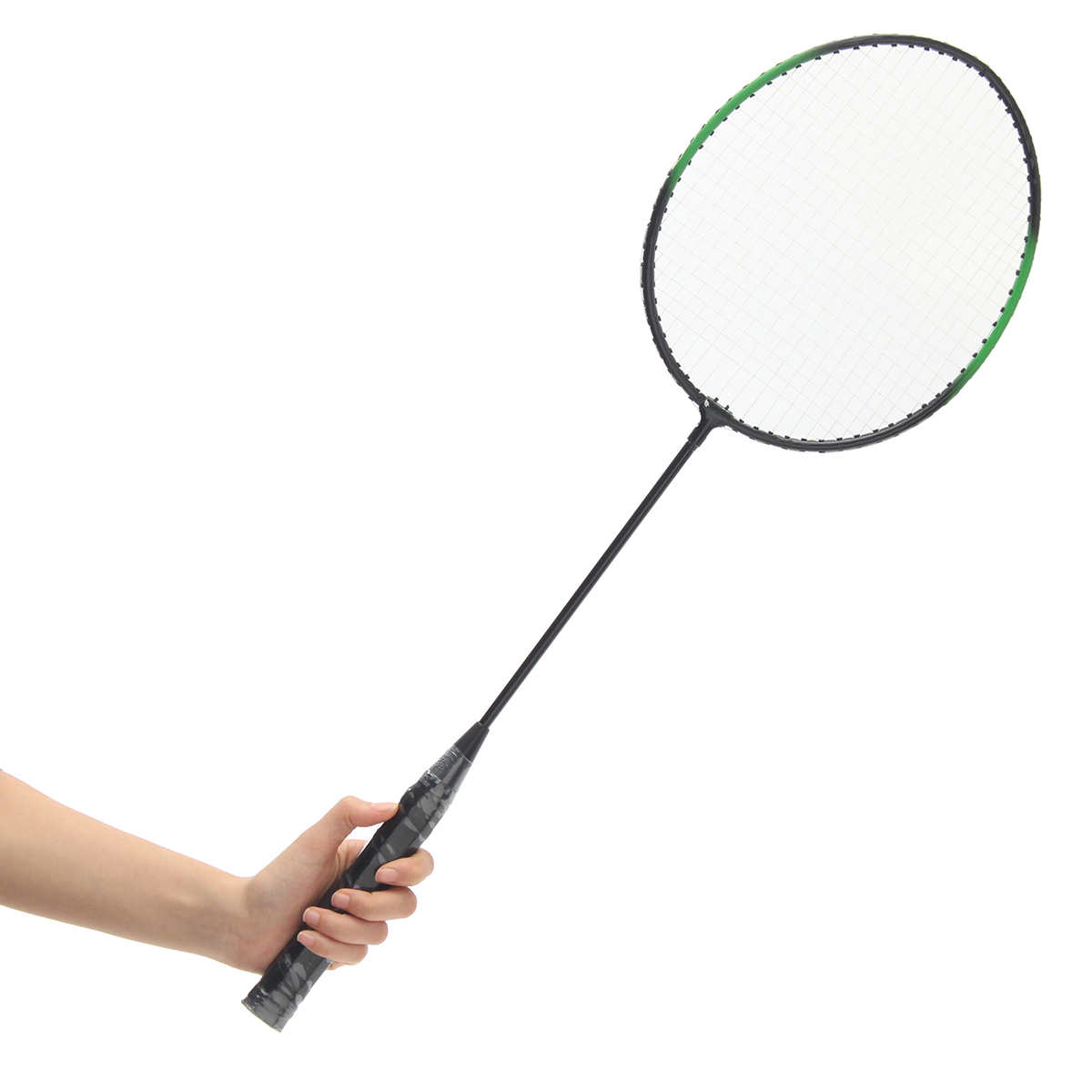 4-Player Aluminium Alloy Racket Professional Badminton Set with Net Carry Bag