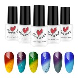Gelfavor Temperature Change UV Gel Polish LED Shiny Soak Off Lacquer Varnish Nail Art 7ml Manicure