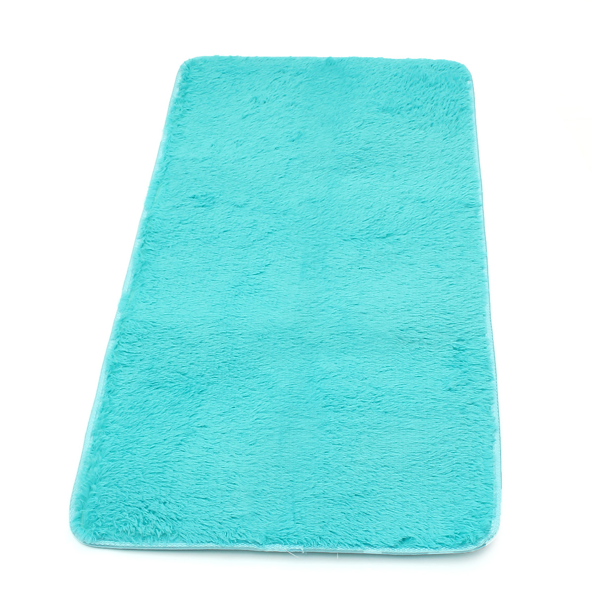 60 x 120cm Anti-skid Shaggy Fluffy Area Rug Bedroom Carpet Floor Mat Parlor Decor
