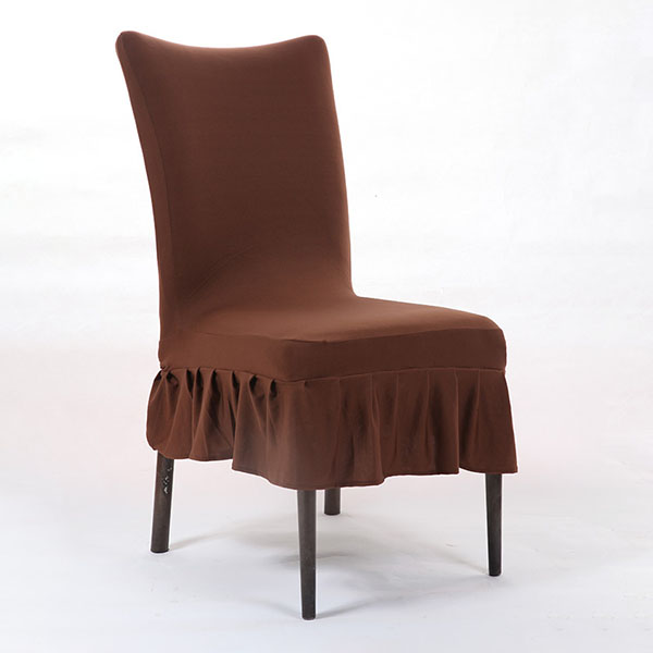 Kcasa Wx Pp4 Elegant Pure Color Elastic Stretch Chair Seat Cover Dining Room Home Wedding