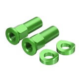 CNC Tusk Rim Lock Nuts Spacer Kit For Honda/Yamaha/KTM/Suzuki/Kawasaki/MX/Enduro