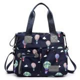 Women Nylon Multi Pocket Waterproof Lightweight Handbag Shoulder Crossbody Bag