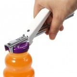 KCASA KC-CP03 Adjustable Manual Stainless Steel Jar Lid Opener Gripper Can Bottle Opening Tool
