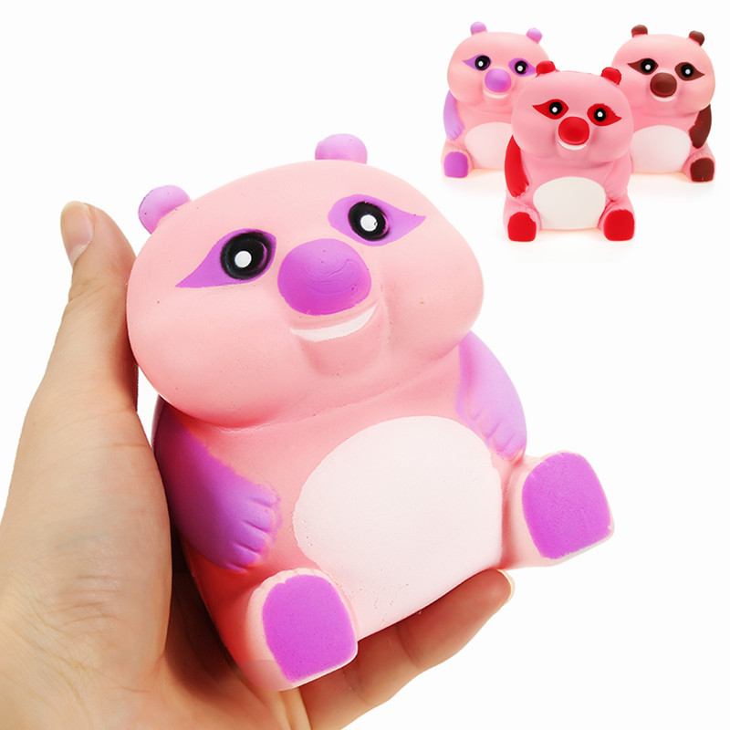 Squishy Collection Purple Banana 25 : Squishy Bear 10cm Slow Rising Animals Cartoon Collection Gift Decor Soft Squeeze Toy Alex NLD