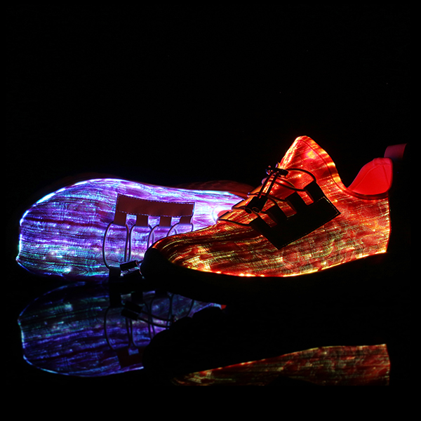 US Size 6.5-12 Men USB Colorful Light Shoes Outdoor Sport Casual Shoes