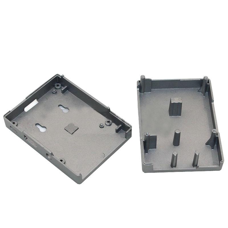 Premium Aluminum Alloy Metal Case Shell Enclosure Box for Raspberry Pi 3 Model