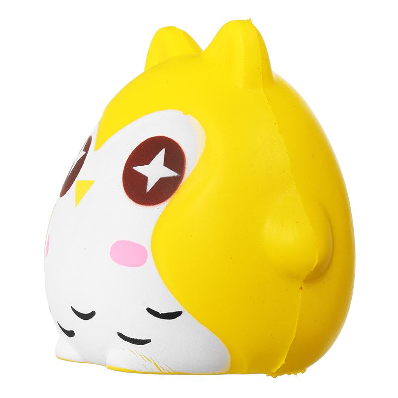 Squishy Owl : Squishy Owl 10cm Soft Sweet Cute Bird Animals Slow Rising Collection Gift Decor Toy Alex NLD