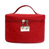 KCASA KC-MB02 Portable Travel Storage Bag Durable Canvas Cosmetic Makeup Bag Travel Organizer