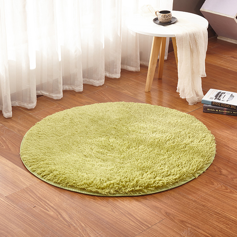 Plush Rug Floor: KCASA KC-MP1 60cm Non-Slip Bedroom Floor Mat Fluffy Soft