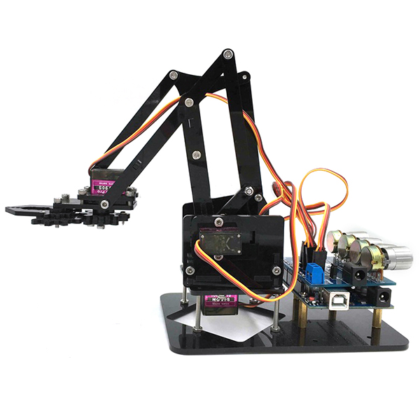 Diy dof robot arm axis rotating mechanical